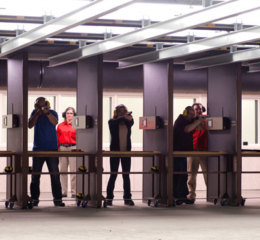 Heritage has two 25-yard indoor shooting ranges.